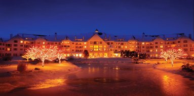 Old World Christmas Market in Elkhart Lake, WI