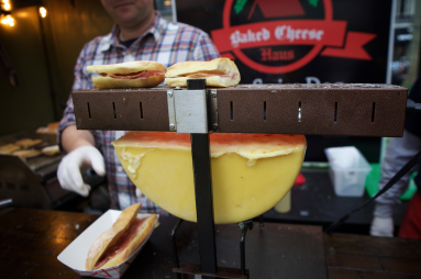 Gothamist slideshow featuring Baked Cheese Haus