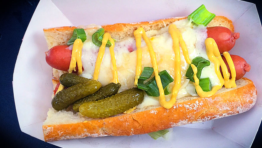 one of a kind Raclette Swiss Dog